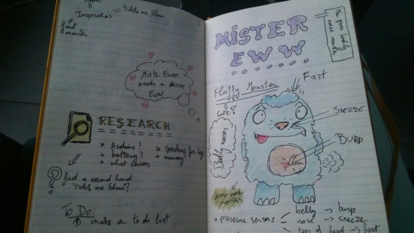 Mr. Eww notes